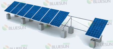 pole mount solar racking