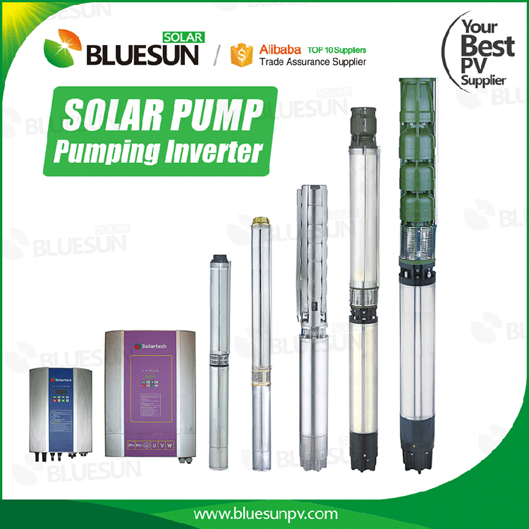 ac solar submersible pump