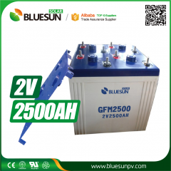 2V 2500ah AGM best rechargeable battery type