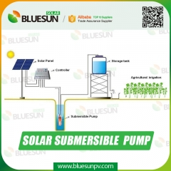 solar powered submersible well pump