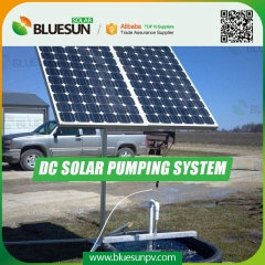DC solar water pump