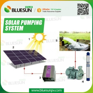 solar submersible pump