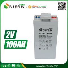 2V 100ah AGM best rechargeable battery type