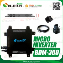 Home/Commercial Use Grid Tie Inverter Solar Power Inverter Micro 300 watt Inverter-Bluesun