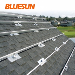 Aluminium Alloy  Solar Panel Roof Mounting Structure for Solar Panel