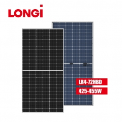 LR4-72HBD 166mm Half Cell 455W 455Wp Mono Solar Panel