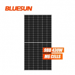 bluesun half cut 430watt solar pv panel